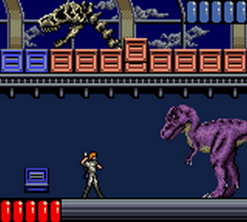Jurassic Park (Game Gear) - 62
