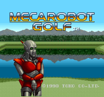Mecarobot Golf (SNES) - 01