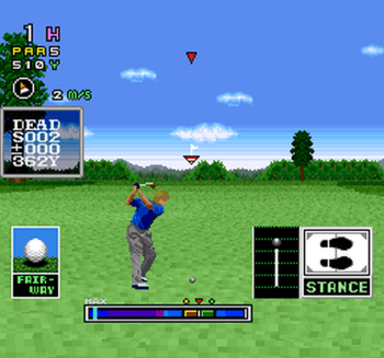 Mecarobot Golf (SNES) - 06
