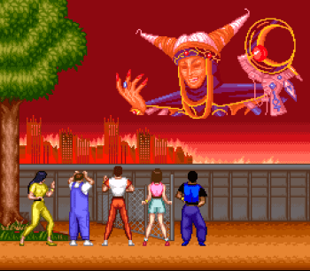 Mighty Morphin Power Rangers (SNES) - 02