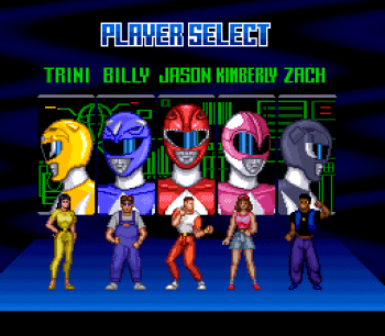 Mighty Morphin Power Rangers (SNES) - 03