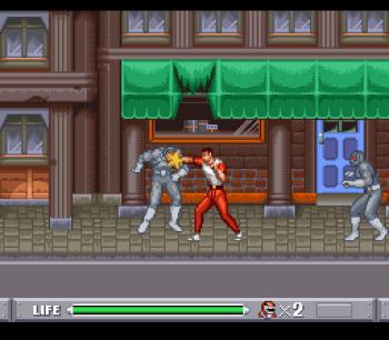 Mighty Morphin Power Rangers (SNES) - 04
