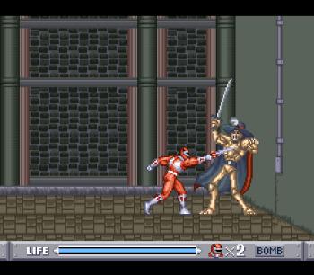Mighty Morphin Power Rangers (SNES) - 12
