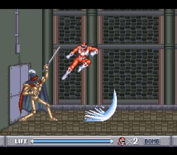 Mighty Morphin Power Rangers (SNES) - 13