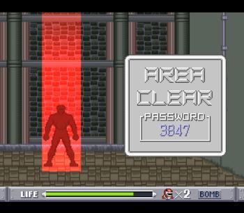 Mighty Morphin Power Rangers (SNES) - 17