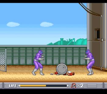 Mighty Morphin Power Rangers (SNES) - 19