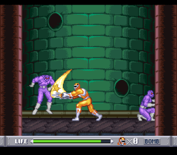 Mighty Morphin Power Rangers (SNES) - 33