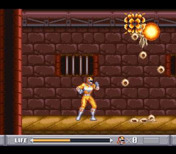 Mighty Morphin Power Rangers (SNES) - 38