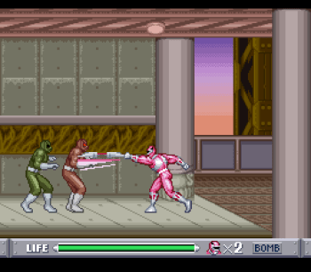 Mighty Morphin Power Rangers (SNES) - 43