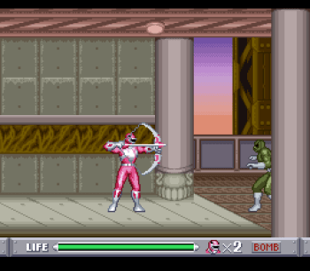Mighty Morphin Power Rangers (SNES) - 44