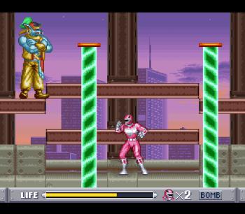 Mighty Morphin Power Rangers (SNES) - 50