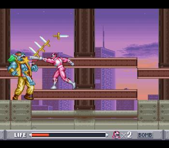 Mighty Morphin Power Rangers (SNES) - 51