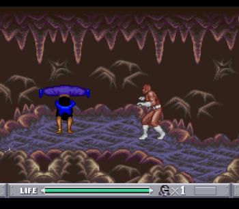 Mighty Morphin Power Rangers (SNES) - 55