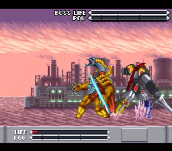 Mighty Morphin Power Rangers (SNES) - 69
