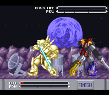 Mighty Morphin Power Rangers (SNES) - 77