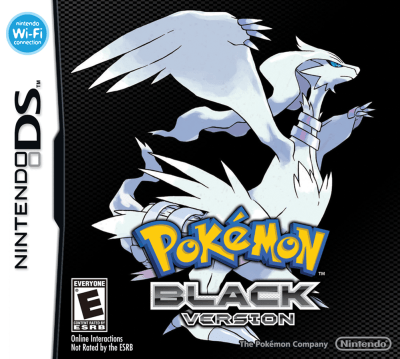 Pokemon Black Boxart