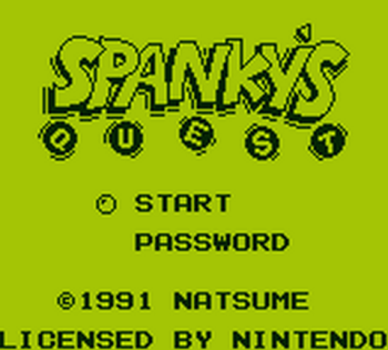 Spanky's Quest (Gameboy) - 01