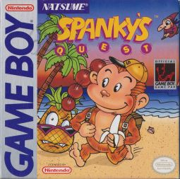 Spanky's Quest (Gameboy) - Front Cover
