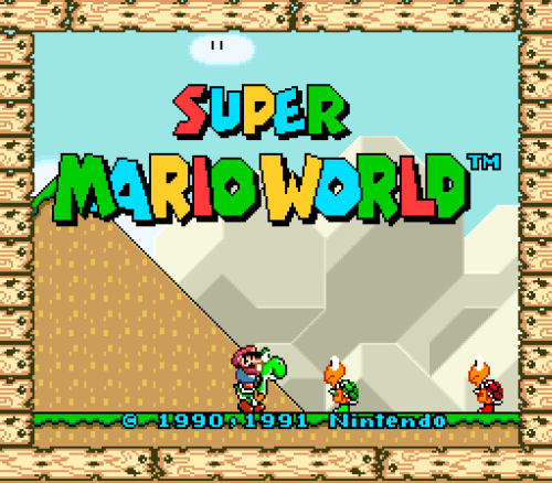Super Mario World (SNES) - 001