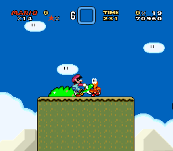 Super Mario World (SNES) - 017