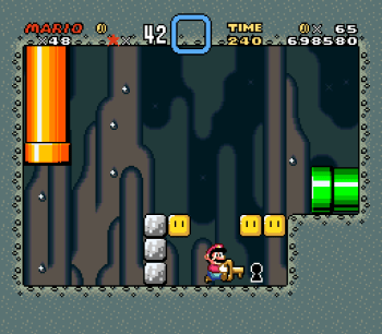 Super Mario World (SNES) - 085