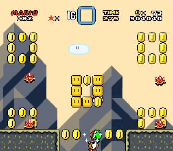 Super Mario World (SNES) - 115