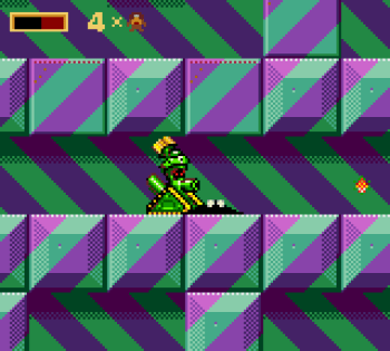 Taz in Escape From Mars (Game Gear) - 08