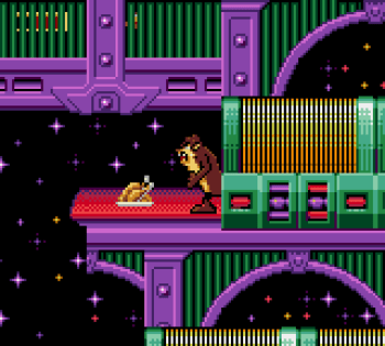 Taz in Escape From Mars (Game Gear) - 09