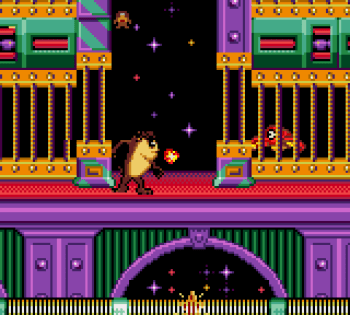 Taz in Escape From Mars (Game Gear) - 11