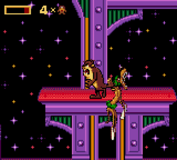 Taz in Escape From Mars (Game Gear) - 13
