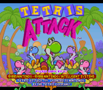 Tetris Attack SNES - 01