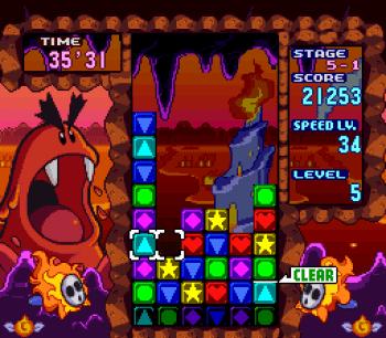 Tetris Attack SNES - 12