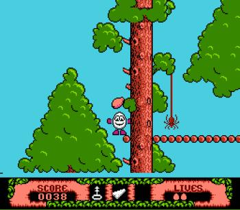 The Fantastic Adventures of Dizzy (NES) - 07