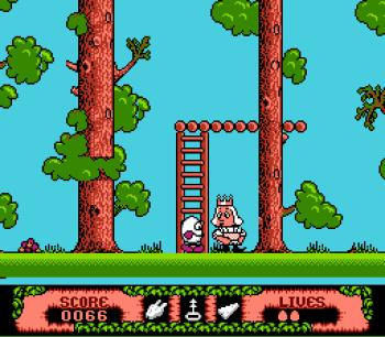 The Fantastic Adventures of Dizzy (NES) - 18