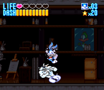 Tiny Toon Adventures - Buster Busts Loose! (SNES) - 08