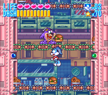 Tiny Toon Adventures - Buster Busts Loose! (SNES) - 12