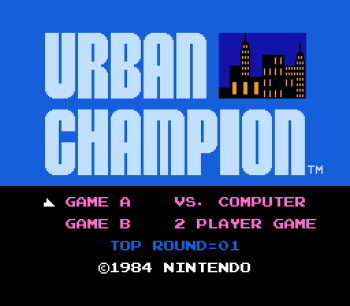 Urban Champion (NES) - 01