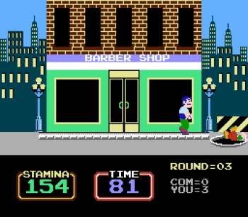 Urban Champion (NES) - 05