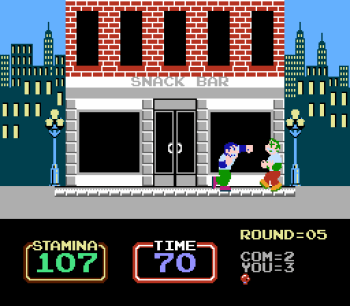 Urban Champion (NES) - 08