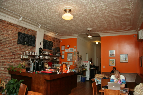 Cafe Grumpy Interior
