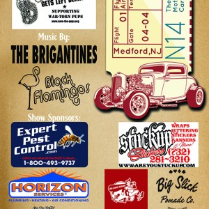 Big Mother FlyING Car Show Poster