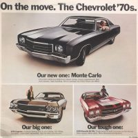 Chevrolet On The Move rear cover