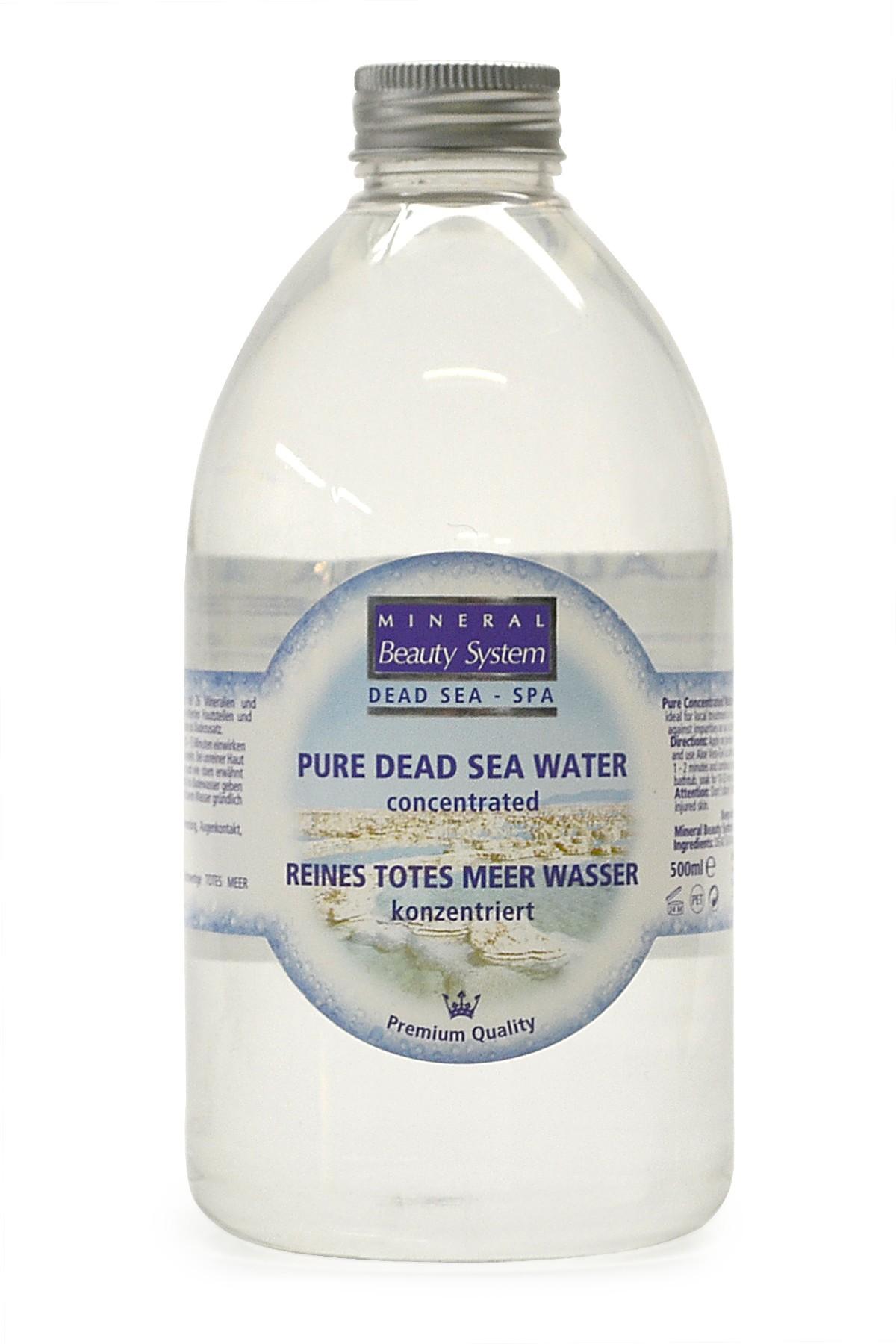 100% Dead Sea Water Concentrated (500 ml)   Dead Sea ...