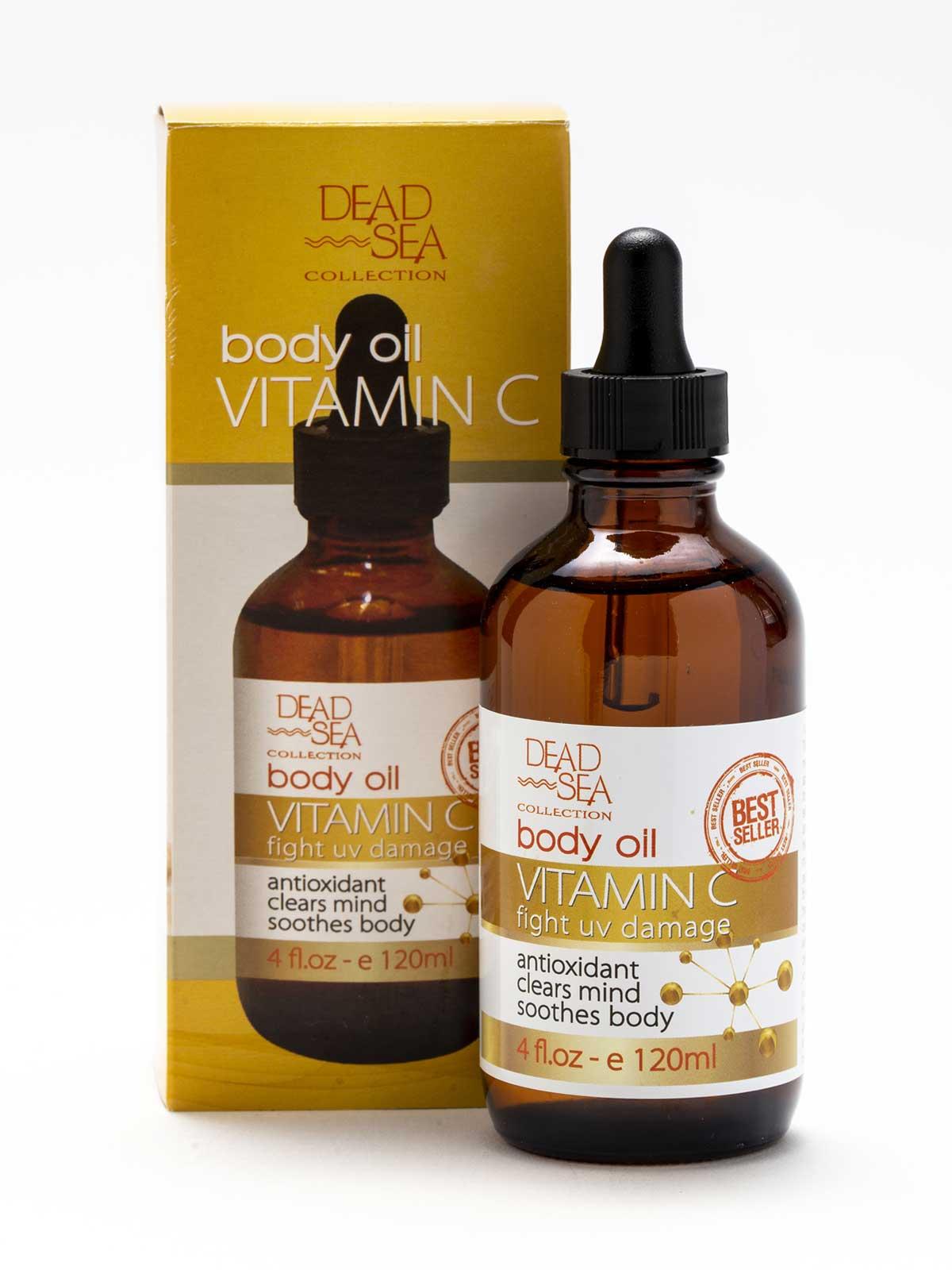 Vitamin C Body Oil | Dead Sea Collection
