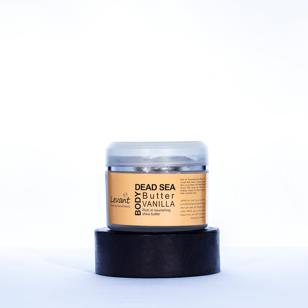 Dead Sea Body Butter – Vanilla