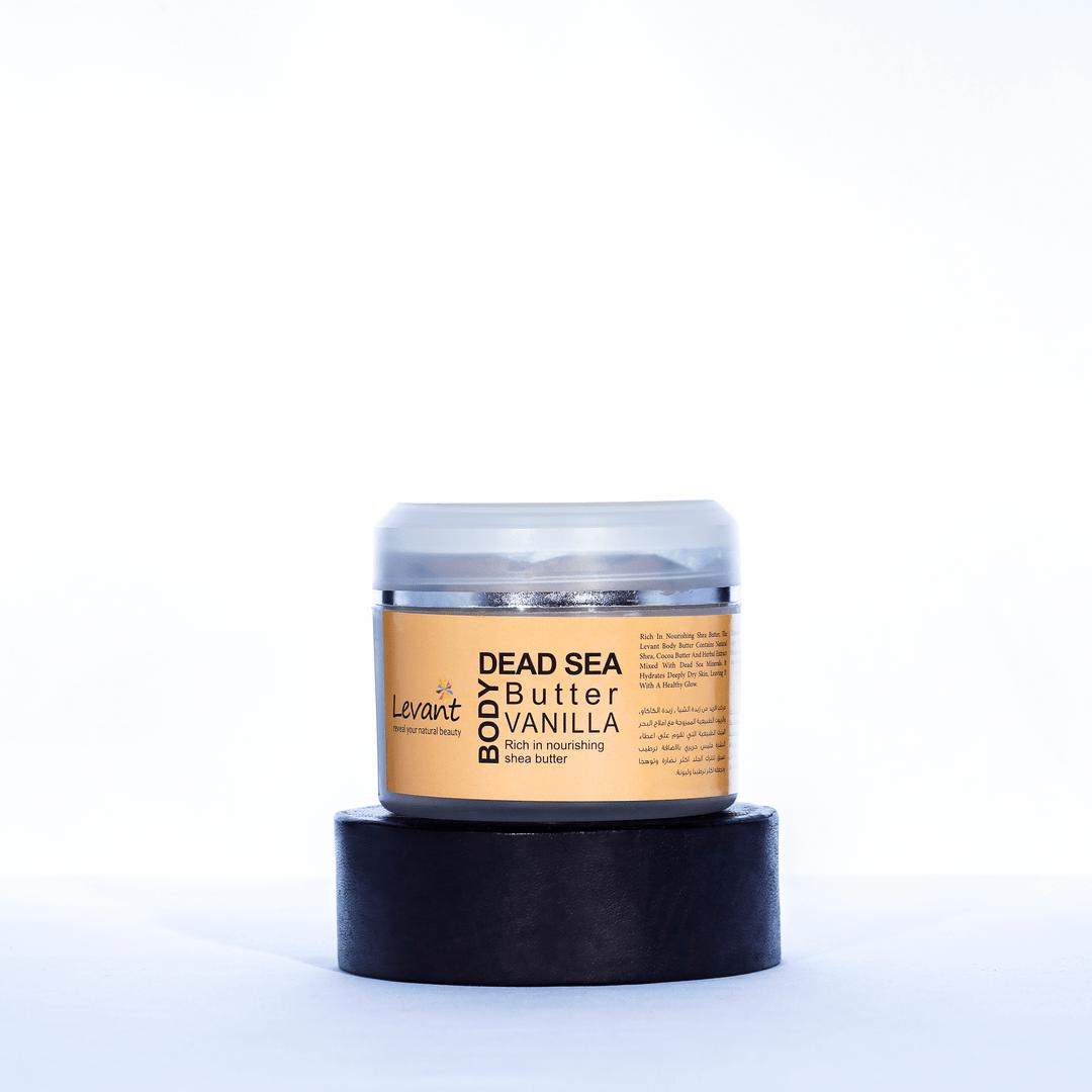Dead Sea Body Butter – Vanilla