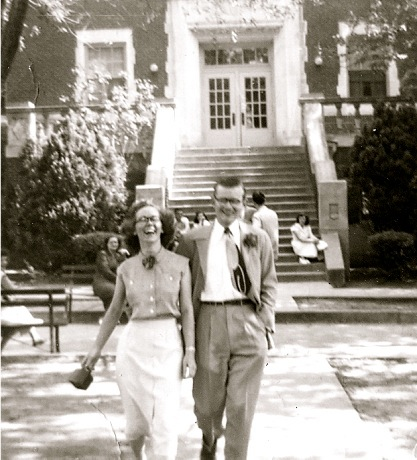 Lloyd and Margie at the Oklahoma School for the Deaf