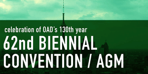 OAD's 62nd AGM / Biennial Convention