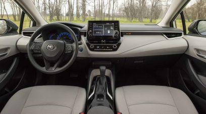 Toyota Corolla Híbrido interior