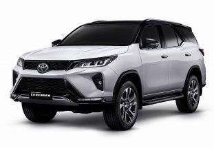 Toyota Fortuner Legender 2022: Exterior